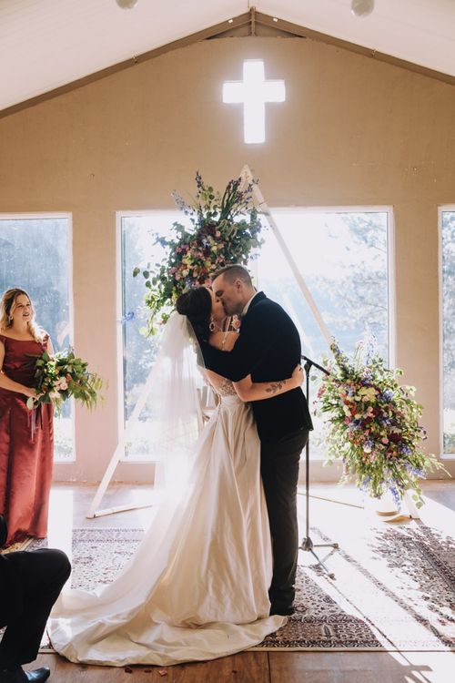 South African Wedding With Polaroid Guest Book