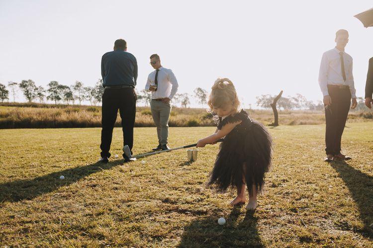 Wedding Games At Outdoor Wedding Venue