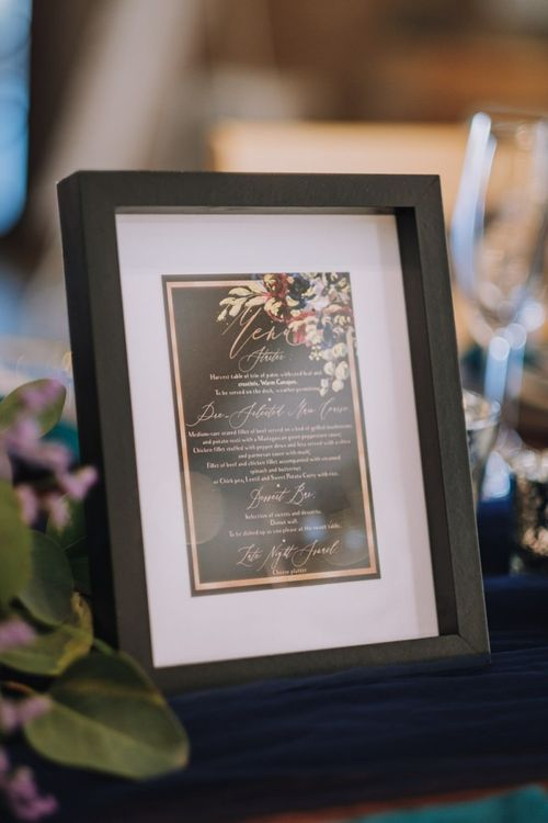 Beautiful Wedding Stationery With Floral Details with Polaroid Guest Book