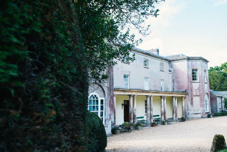 Pennard House in Somerset | Colourful Pennard House Wedding With Bride Wearing Alexandrer Wang Dress | Allison Dewey Photography
