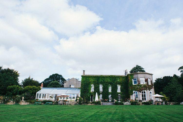Pennard House in Somerset | Colourful Pennard House Wedding With Bride Wearing Alexander Wang Dress | Allison Dewey Photography