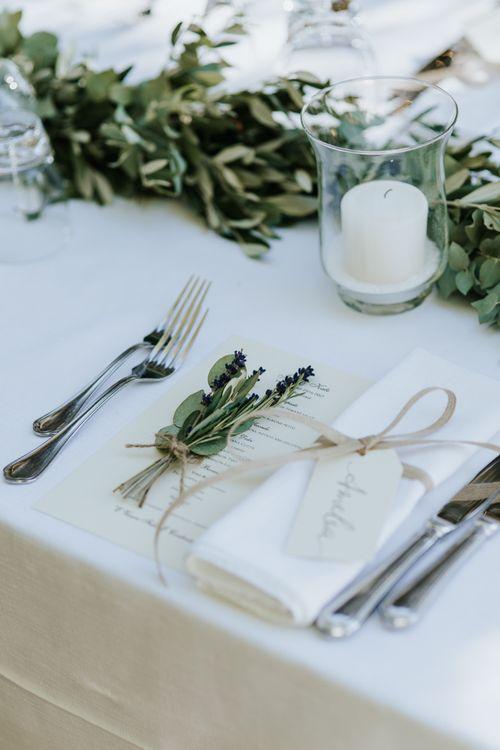 Italian Destination Wedding With Fairy Light Canopy