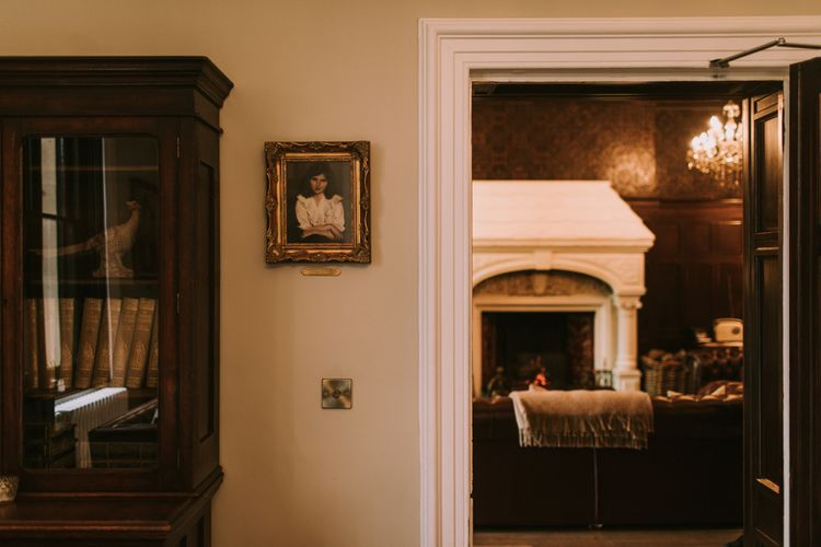 Stunning Rooms | Private Country Estate Venue | Tyn Dwr Hall, North Wales | Justin Alexander Gown from Brides by Tina Louise | Photography by Livi Edwards.