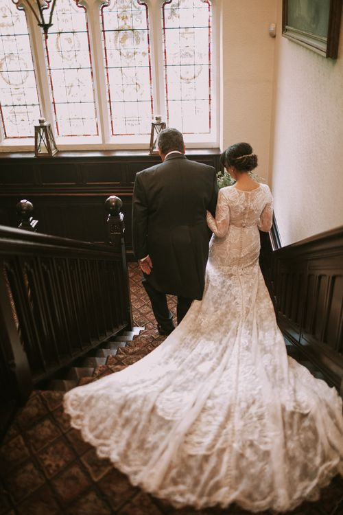 Dress Perfection | Tyn Dwr Hall, North Wales | Justin Alexander Gown from Brides by Tina Louise | Photography by Livi Edwards.