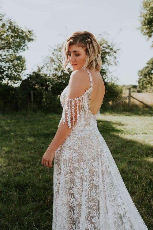 Grace Loves Lace low back wedding dress