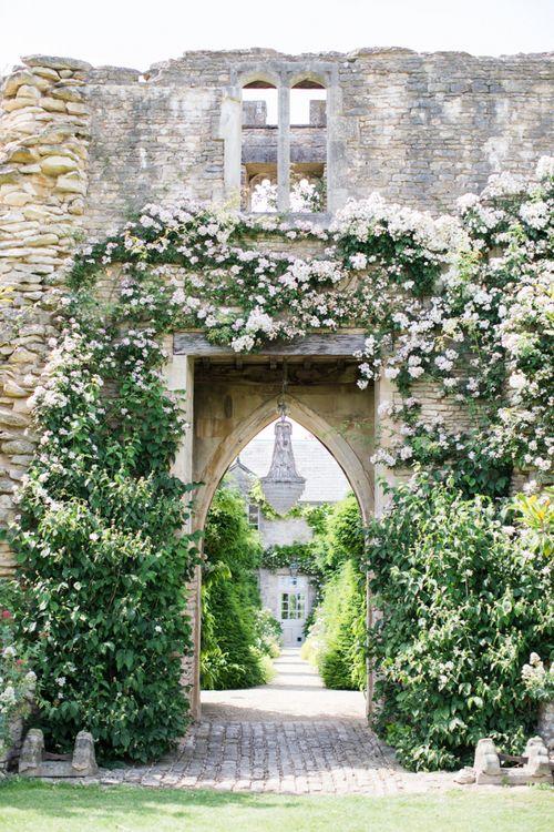Hanging Chandelier in The Lost Orangery Wedding Venue