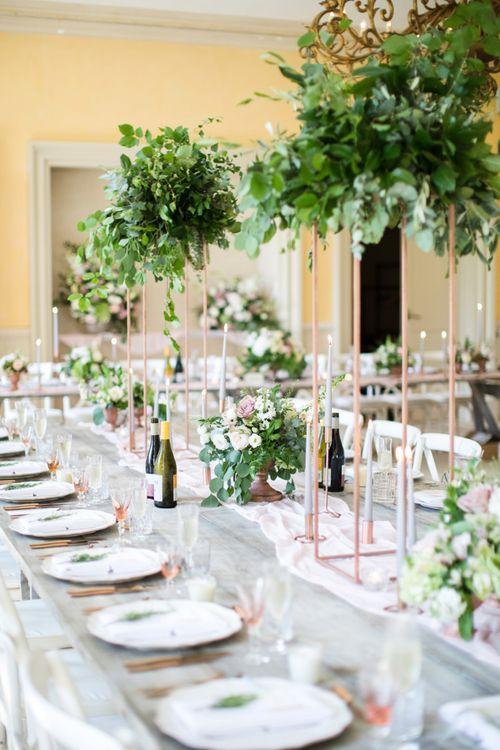 Table Centrepiece Wedding Decor