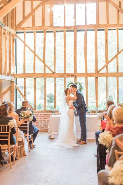 You May Now Kiss the Bride Moment