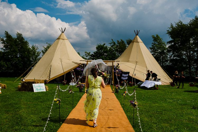 DIY Tipi Wedding in Yorkshire | Tim Dunk Photography