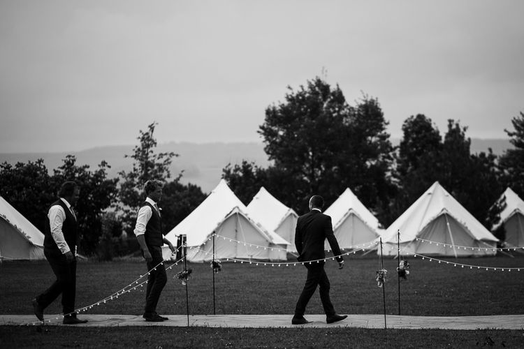 Bell Tents | DIY Tipi Wedding in Yorkshire | Tim Dunk Photography