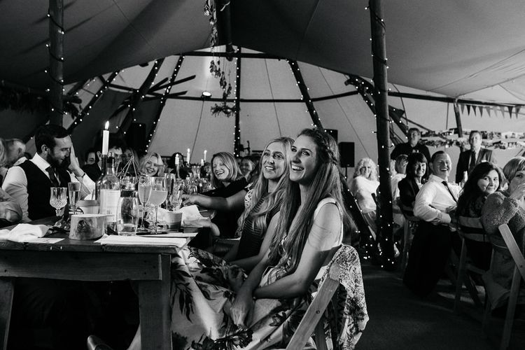 Wedding Guests | DIY Tipi Wedding in Yorkshire | Tim Dunk Photography