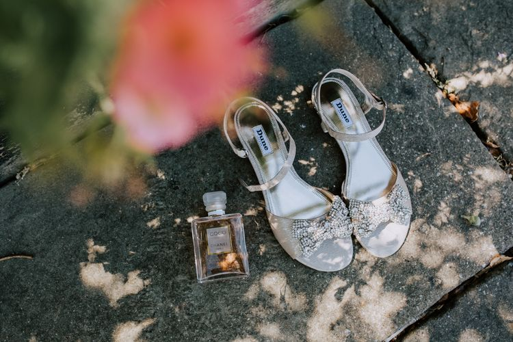 Dune Wedding Shoes / Image By Sally Rawlins Photography