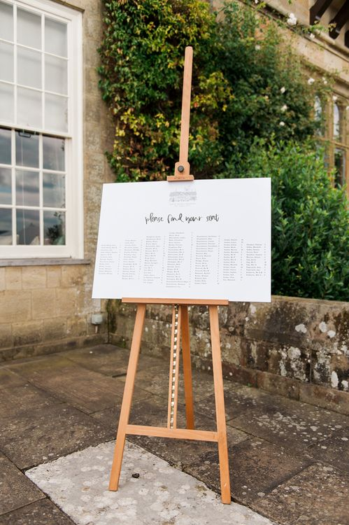 Quints of Jersey Stationery | Cowdray House, West Sussex | Photography by Emma Pilkington | Beattie Bailey planning & Styling | Bride wears Suzanne Neville