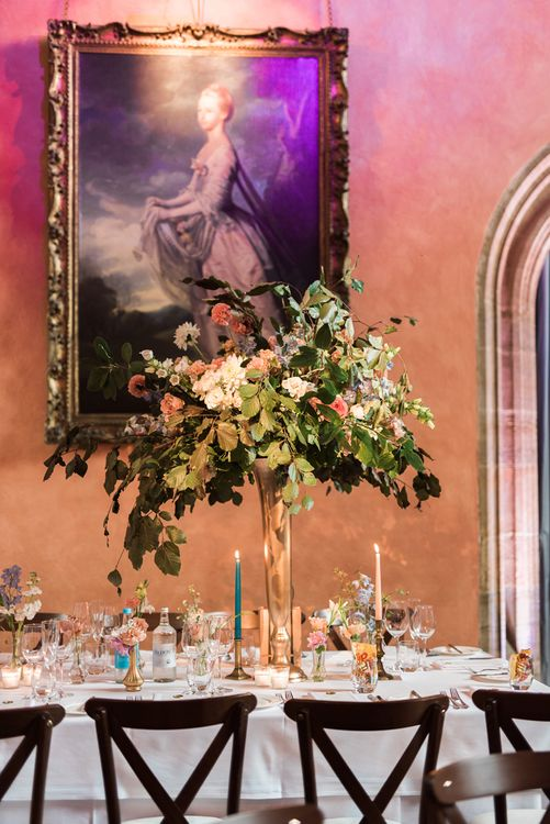 Jenni Bloom Flowers | Cowdray House, West Sussex | Photography by Emma Pilkington | Beattie Bailey planning & Styling | Bride wears Suzanne Neville