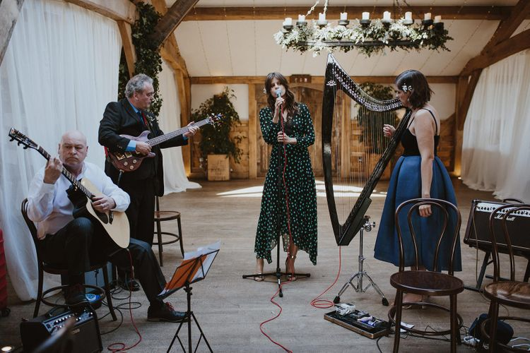Wedding Entertainment including Harpist, Guitarist and Singer