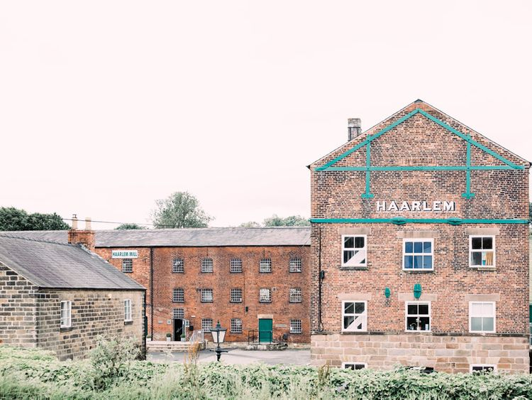 Haarlem Mill wedding venue in Derbyshire