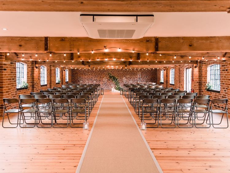 Haarlem Mill wedding venue for industrial style ceremony