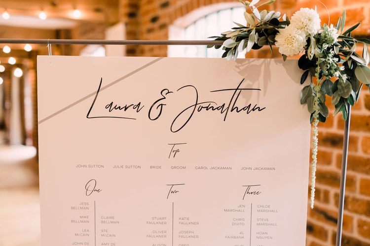 Contemporary wedding stationery ay industrial chic Haarlem Mill Wedding