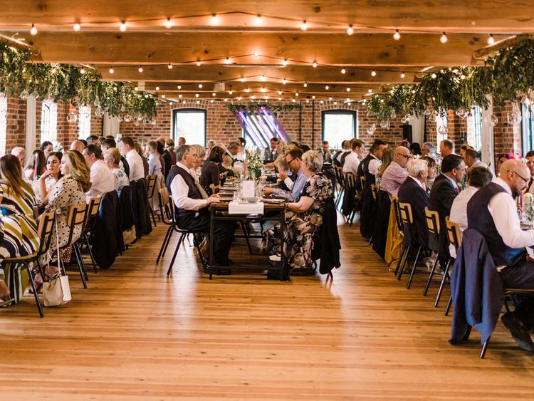Guests enjoy beautiful  Haarlem Mill wedding
