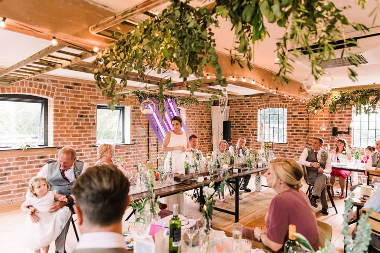 Bride speech for Haarlem Mill wedding