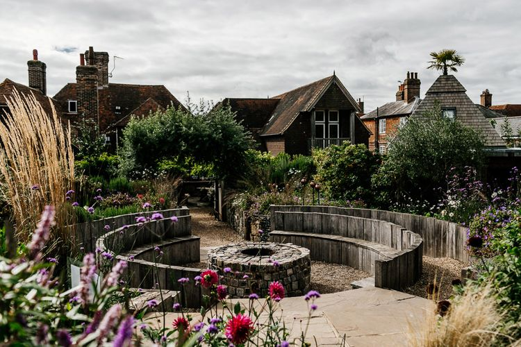 Pub Garden | Quirky Pub Wedding at The Bell in Ticehurst East Sussex | Epic Love Story Photography