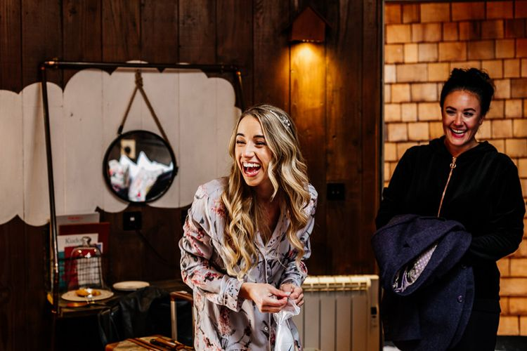 Wedding Morning Bridal Preparations | Quirky Pub Wedding at The Bell in Ticehurst East Sussex | Epic Love Story Photography