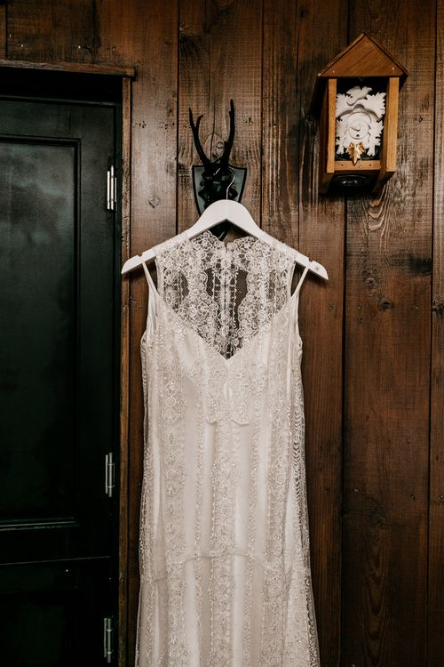 Lace Charlie Brear Delancey Gown | Quirky Pub Wedding at The Bell in Ticehurst East Sussex | Epic Love Story Photography