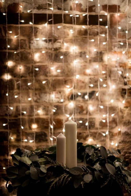 Fairy Lights and Candles Wedding Lighting Decor, Wedding, UK