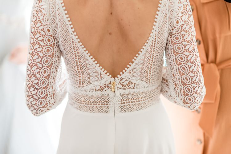 Lace Rembo Styling Wedding Dress
