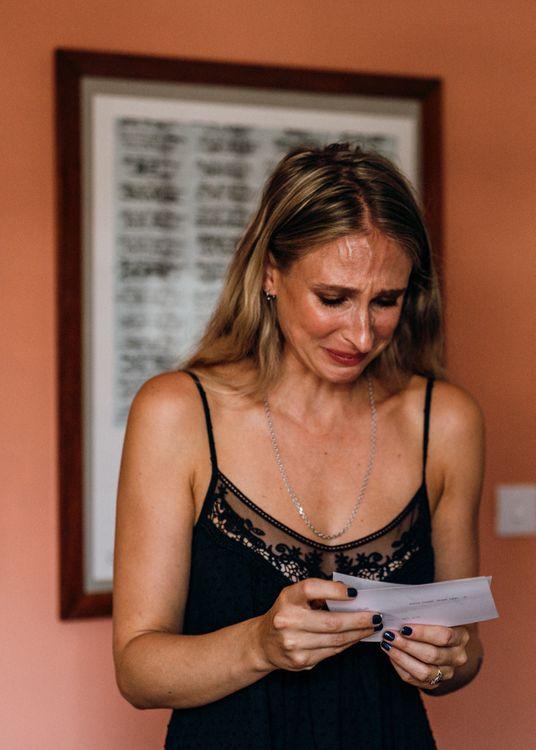 Bridal Preparations with Emotional Bride