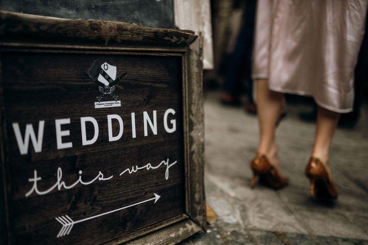 Wedding Sign DIY Inspiration