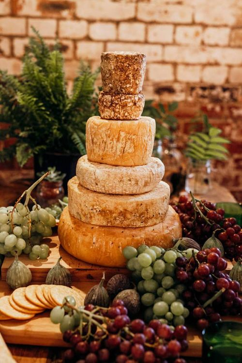 Cheese Tower Wedding Cake by Wildes Cheeses