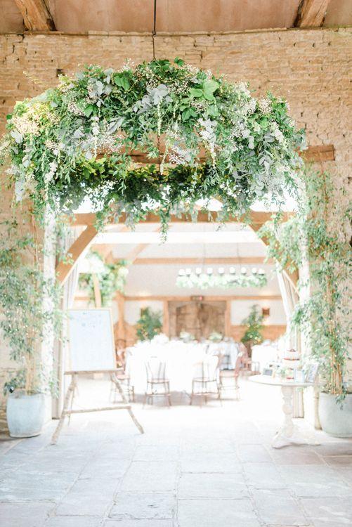 Greenery Hanging Hoop Wedding Decor