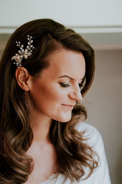 Bridal beauty and hair accessory