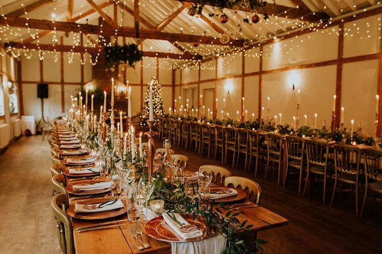 Burley Manor wedding decor