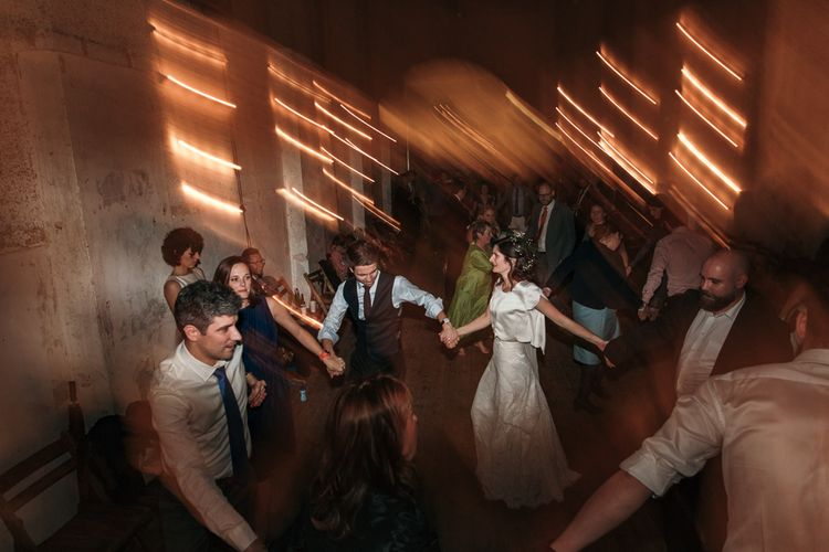 Dry Hire Wedding Venue Dilston Grove London With Bride In Sally Lacock And Groom In Mr Start With Images From Joasis Photography