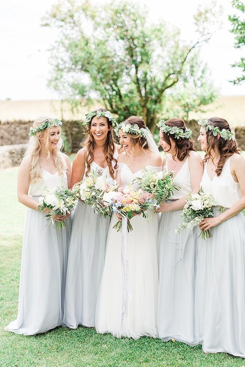 Foliage Filled Wedding At Cripps Barn