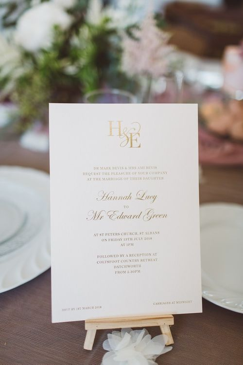 Emily & Jo & Cutture London Wedding Stationery | L'heure Opulente - Laid Back French Chic, Paired with Elegant British Twists by Simply Pergord Weddings at Le Jardin à La Française Chateau | Mathilde Dufraisse Photography
