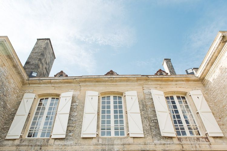 Shutters | L'heure Opulente - Laid Back French Chic, Paired with Elegant British Twists by Simply Pergord Weddings at Le Jardin à La Française Chateau | Mathilde Dufraisse Photography
