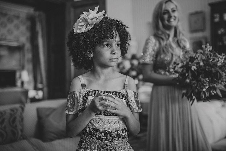 Wedding Morning Bridal Preparations | Pennard House Outdoor Country Garden Wedding | Howell Jones Photography