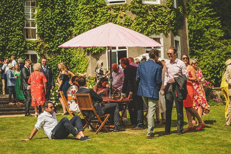 Pennard House Outdoor Country Garden Wedding | Howell Jones Photography