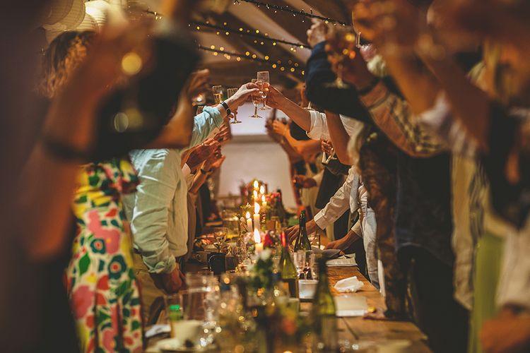 Wedding Reception | Pennard House Outdoor Country Garden Wedding | Howell Jones Photography