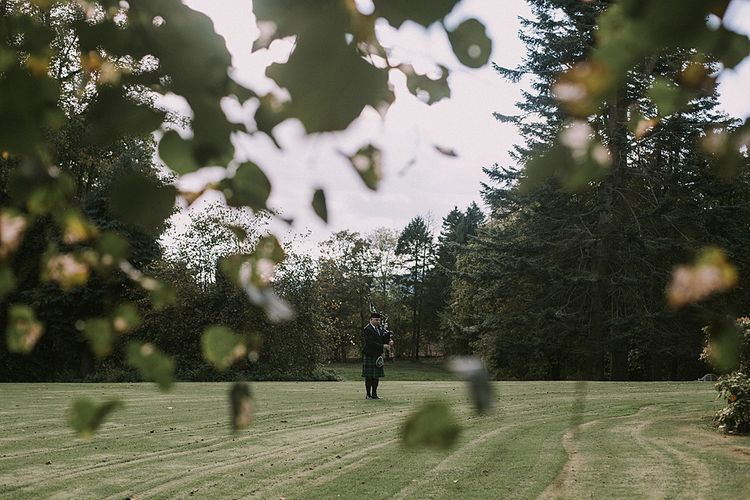 Autumnal Scottish Woodland Wedding at Fernie Castle | Maureen Du Preez Photography