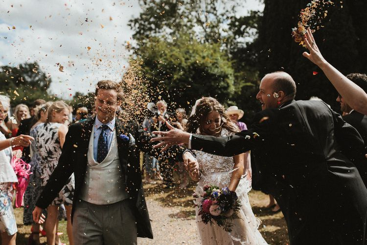 Dried Petal Confetti // James Frost Photography