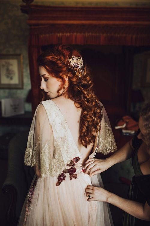 Stunning braided bridal hair