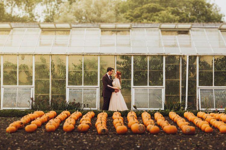 Pumpkins at Forde Abbey wedding venue