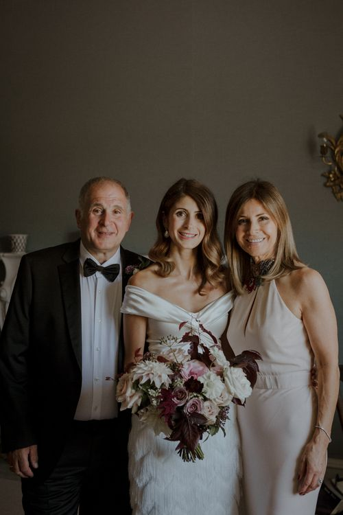 Bride In Halfpenny London Separates // Boconnoc Cornwall Weekend Wedding With Bride In Halfpenny London & Groom In Paul Smith With Images From The Curries