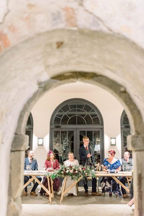 Grooms speech for February wedding