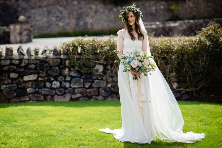 Bride in Charlie Brear Wedding Dress from Perfect Day Bridal