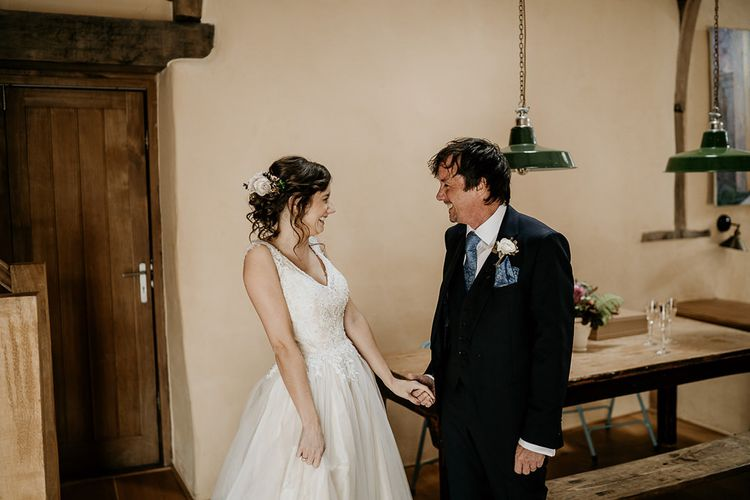 Bridal preparations for September wedding